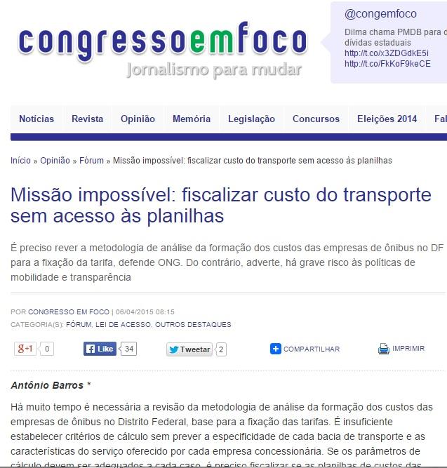 Congresso em Foco 6/4/2015
