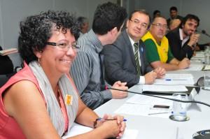 Jovita Rosa, presidente do Conselho de Transparência e Controle Social