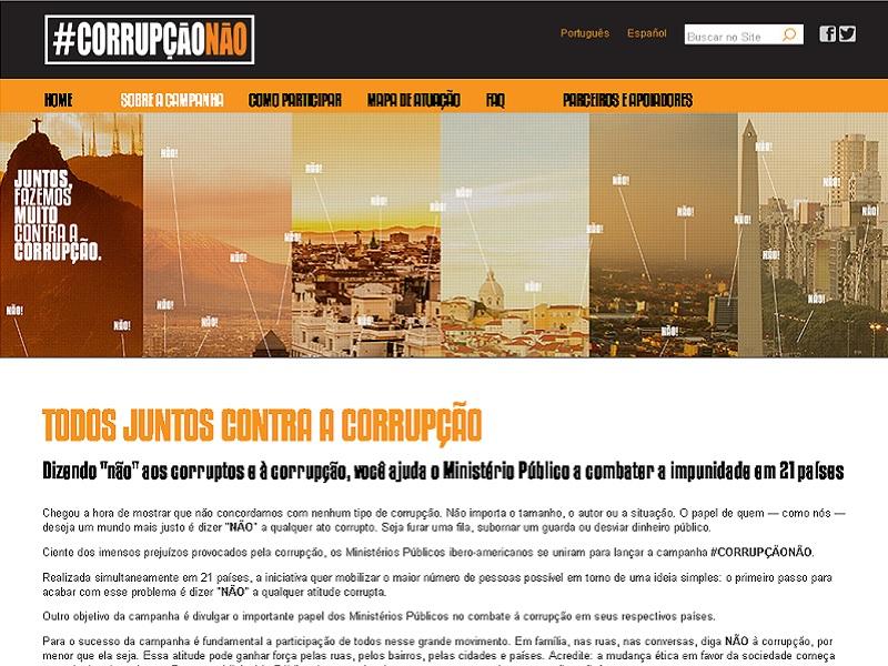 #CorrupçãoNão