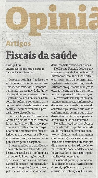 Jornal de Brasília, 31/7/2015, p13