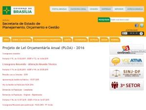 Secretaria de Planejamento, Orçamento e Gestão