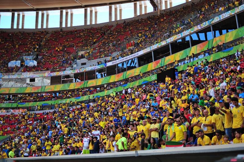 Brasil x África do Sul - Andre Borges / Agência Brasília